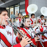 "Montgomery Blair High School Marching Band. The AFI-Discovery Channel Silverdocs Documentary Festival opening night screening of ""More Than a Game"" June 15, 2009 (Photo by Tony Powell)"