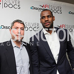 "Henry Ellenbogen, LeBron James. The AFI-Discovery Channel Silverdocs Documentary Festival opening night screening of ""More Than a Game"" June 15, 2009 (Photo by Tony Powell)"