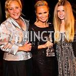 Photo by Tony Powell. Senator Mary Landrieu, Kristin Chenoweth, Mary Shannon Landrieu. Angels in Adoption Gala. Reagan Building. October 6, 2010