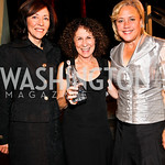 Photo by Tony Powell. Senator Maria Cantwell, Rhea Perlman, Senator Mary Landrieu. Angels in Adoption Gala. Reagan Building. October 6, 2010