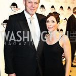 Photo by Tony Powell. Edgar and Tracy Dobie. Arena Stage Opening Gala Celebration. Mead Center. October 25, 2010