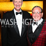 Photo by Tony Powell. Councilmembers Jack Evans, Jim Graham. Arena Stage Opening Gala Celebration. Mead Center. October 25, 2010