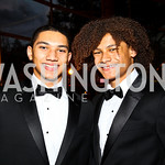 Photo by Tony Powell. Tap dancers John and Leo Manzari. Arena Stage Opening Gala Celebration. Mead Center. October 25, 2010