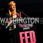 Photo by Tony Powell. Arianna Huffington. Fed Talks 2010. Harman Center. October 12, 2010