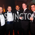 Photo by Tony Powell. Chris Donatelli, Scott Kinlaw, Ben Soto, Ryan Riel, Matt Leydig. Fight Night. Hilton Hotel. November 11, 2010