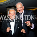 Photo by Tony Powell. Boxer Jake &quot;The Raging Bull&quot; LaMotta, Boxer Gerry Cooney. Fight Night. Hilton Hotel. November 11, 2010