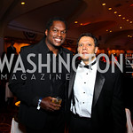 Photo by Tony Powell. LaVar Arrington, Joe Hadeed. Fight Night. Hilton Hotel. November 11, 2010