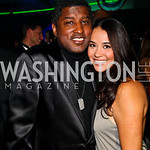 Photo by Tony Powell. Kenneth &quot;Babyface&quot; Edmonds, Nikki Pantenburg. Fight Night. Hilton Hotel. November 11, 2010