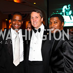 Photo by Tony Powell. Hilton Hudson, Joe Robert, Kenneth &quot;Babyface&quot; Edmonds. Fight Night. Hilton Hotel. November 11, 2010