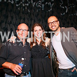 "Photo by Tony Powell. Director Alex Gibney, Sky Sitney, Producer Chad Troutwine. Opening Night of SilverDocs: ""Freakonomics"". June 21, 2010"