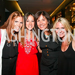 "Photo by Tony Powell. Jodi Zamoiski, Stacy Ferguson, Arlene Wechsler, Barbie Zamoiski. Opening Night of SilverDocs: ""Freakonomics"". June 21, 2010"
