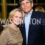 Photo by Tony Powell. Diana and Stephen Goldberg. WTT VIP Reception with Elton John. Bender Arena. November 15, 2010