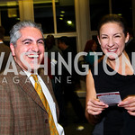 Photo by Tony Powell. Reza Ghorbani, Wendy Burger. WTT VIP Reception with Elton John. Bender Arena. November 15, 2010