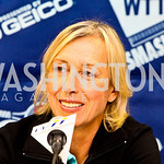 Photo by Tony Powell. Martina Navratilova. WTT VIP Reception with Elton John. Bender Arena. November 15, 2010