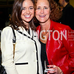Photo by Tony Powell. Sally and Claudia Stiebel. WTT VIP Reception with Elton John. Bender Arena. November 15, 2010