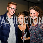 Photo by Tony Powell. Brian Galm, Sarah Carlson, Anne Steeves. WTT VIP Reception with Elton John. Bender Arena. November 15, 2010
