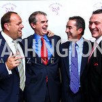 Photo by Tony Powell. Phil Simonides, John Yosaitis, Jack Mencia, Chad MacDonald. Wings of Hope Gala. Trump Golf Club. November 6, 2010