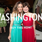 Sarah Jessica Parker, Deborah Warren. National Medal of Arts and Humanities Dinner. National Museum of the American Indian. February 12, 2012. Photo by Alfredo Flores