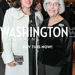 Bianca Pulitzer, Emily Rauh Pulitzer. National Medal of Arts and Humanities Dinner. National Museum of the American Indian. February 12, 2012. Photo by Alfredo Flores