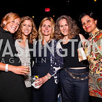 Stevie Smith, Catherine Frymark, Michelle Russo, Helaine Resnick, Roxanne Weiss. Silverdocs Opening Night After Party. Photo by Tony Powell. The Fillmore. June 18, 2012