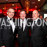 Executive Vice President of CNN Ken Jautz, Piers Morgan, President of CNN Worldwide Jim Walton. CNN Congressional Correspondent's Dinner After Party. Photo by Tony Powell. Lincoln. March 30, ...
