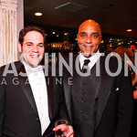 Casey Hebert, CNN correspondent Joe Johns. CNN Congressional Correspondent's Dinner After Party. Photo by Tony Powell. Lincoln. March 30, 2011