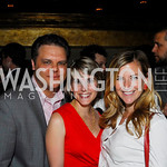 Sean Tuffnell,Rebecca Gibson,Kiki Ryan,Events DC Launch Event At SAX Restaurant,June 22,2011,Kyle Samperton