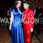 Jaclyn and JoAnn Mason. Photo by Tony Powell. Opera Ball. Embassy of China. May 7, 2011