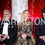 Placido Domingo, Susan Lehrman, Chinese Ambassador Zhang Yesui. Photo by Tony Powell. Opera Ball. Embassy of China. May 7, 2011