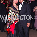 Rosa Djalal and Indonesian Amb. Dino Djalal. Photo by Tony Powell. Opera Ball. Embassy of China. May 7, 2011