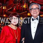Jane and Chuan Liu. Photo by Tony Powell. Opera Ball. Embassy of China. May 7, 2011