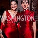 Shamim Jawad, Veronica Valencia. Photo by Tony Powell. Opera Ball. Embassy of China. May 7, 2011