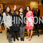 Mona Oswald,Amanda Polk,Christian Siriano, Nina Snow, December 4, 2011, Saks Jandel Fashion Show Benefiting Children's National Medical Center.