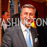 Jefferson Hotel General Managaer Franck Arnold. VIP reception for Relais & Chateaux Hotels. Photo by Tony Powell. French Ambassador's residence. March 28, 2011