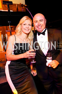 Alla Kitova and Jeff Houle, 2009 Wolf Trap Ball - Germany Celebrates 20 Years of Freedom Without Walls - photo by Tony Powell