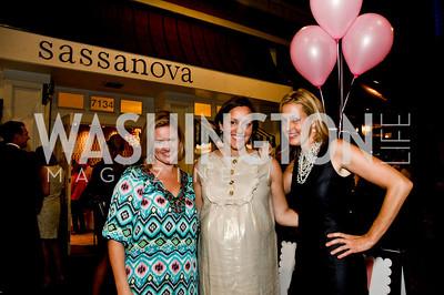 Sassy Jacobs, Sarah Cannova, Ali Wentworth. Babylove, Sassanova. September 16, 2009. Photos by Betsy Spruill Clarke.