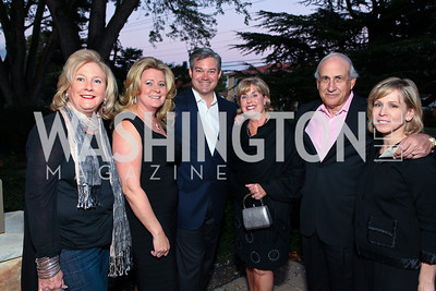 Penny Yerks, Norma Ramsey, Mark Lowham, Claudia and Armen Manoogian, Meredith LaPier. CharityWorks GreenHouse Chairman's Preview Dinner. October 7, 2009. photos by Tony Powell