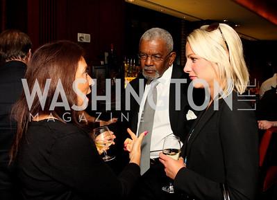 Kathy Vance, Jim Vance, Lindsay Czarniak, Photograph by Tony Powell