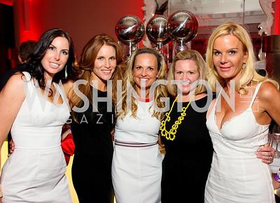 Amy Baier, Sharon Dougherty, Jamie Dorros, Sassy Jacobs, Susanna Quinn, Photograph by Tony Powell