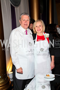 Congressman John Tanner, Betty Ann Tanner. Photo by Tony Powell. March of Dimes Gourmet Gala. Building Museum. April 14, 2010