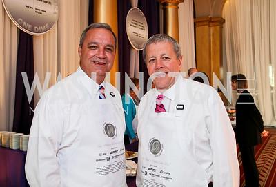 Congressman Jeff Miller, Congressman John Tanner. Photo by Tony Powell. March of Dimes Gourmet Gala. Building Museum. April 14, 2010