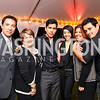 Photo by Tony Powell. Benito Martinez, Lorraine Cortes-Vasquez, Jeremy RayValdez, Aimee Garcia, Raquel Egusquiza, Jesse Garcia. Adrienne Arsht Salon Dinner for National Hispanic Foundation f ...