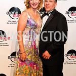 Photo by Tony Powell. Veronika Folz, Roger Klaffka. Arena Stage Opening Gala Celebration. Mead Center. October 25, 2010