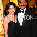 Photo by Tony Powell. Denise Grant, Franklin Raines. Arena Stage Opening Gala Celebration. Mead Center. October 25, 2010