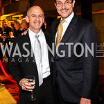Photo by Tony Powell. Mitchell Schear, Mayor-Elect Vincent Gray. Arena Stage Opening Gala Celebration. Mead Center. October 25, 2010