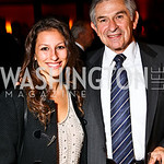 Photo by Tony Powell. Rachel and Paul Wolfowitz. DC Jazz Festival Annual Benefit Dinner. Italian Embassy. October 5, 2010