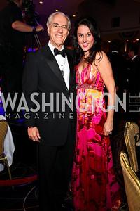 Photo by Tony Powell. George Vradenburg, Trina Campbell. Fight Night. Hilton Hotel. November 11, 2010