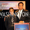 Photo by Tony Powell. Esai Morales, Jimmy Smits. Noche de Gala 2010. Mayflower Hotel. September 14, 2010