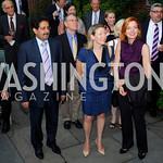 Kyle Samperton,July 29,2010,Reception For Ann Stock.Ali Bin Fahad Al-Hajri,Mary Ellen Matheson,Marie Royce