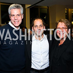 Photo by Tony Powell. Eric Michael, Philip and Mary Dufour. WTT VIP Reception with Elton John. Bender Arena. November 15, 2010